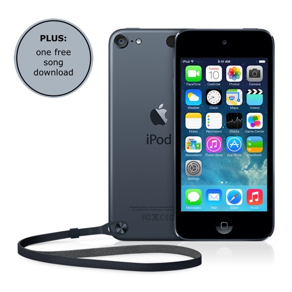 iPod Touch w freebie