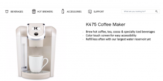 Hedonic Coffee Maker Description