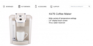 Utilitarian Coffee Maker Description