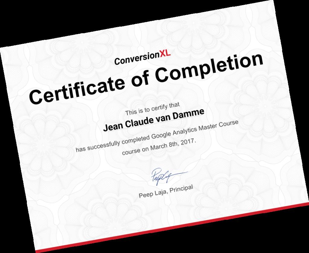 Google Analytics Course | Online Training at CXL Institute