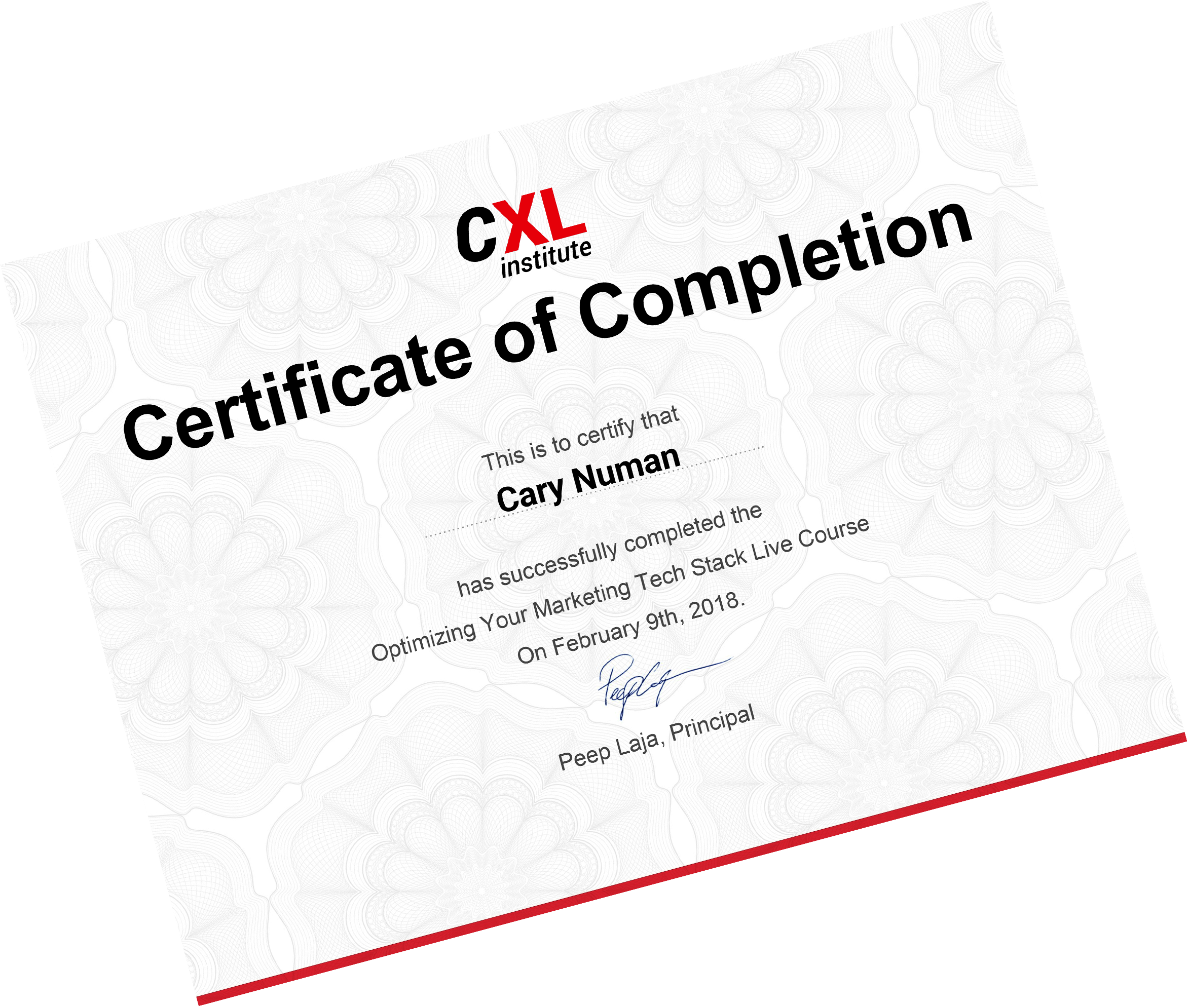 cxl institute course  advanced google tag manager