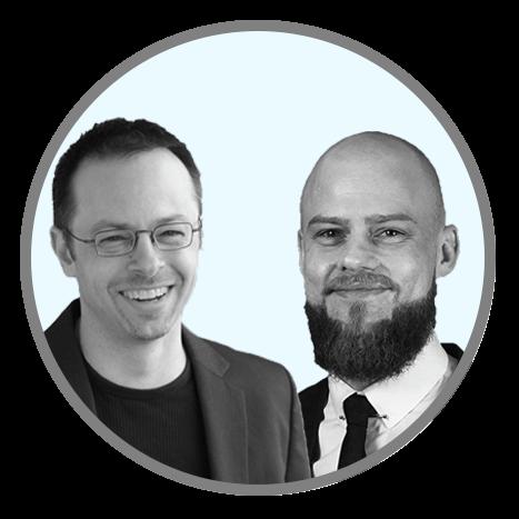 Brian Cugelman and Michael Aagaard