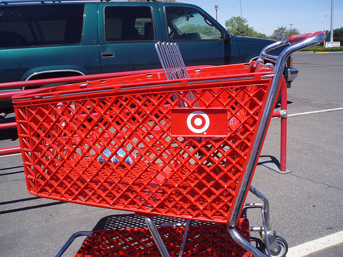 Target shopping cart abandoners