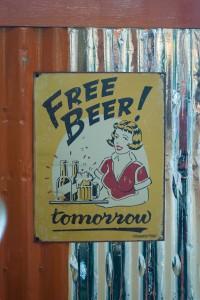 free beer.