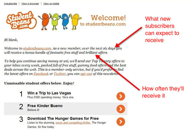 3-studentbeans-welcome-email