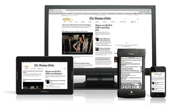 Boston Globe Responsive Layouts