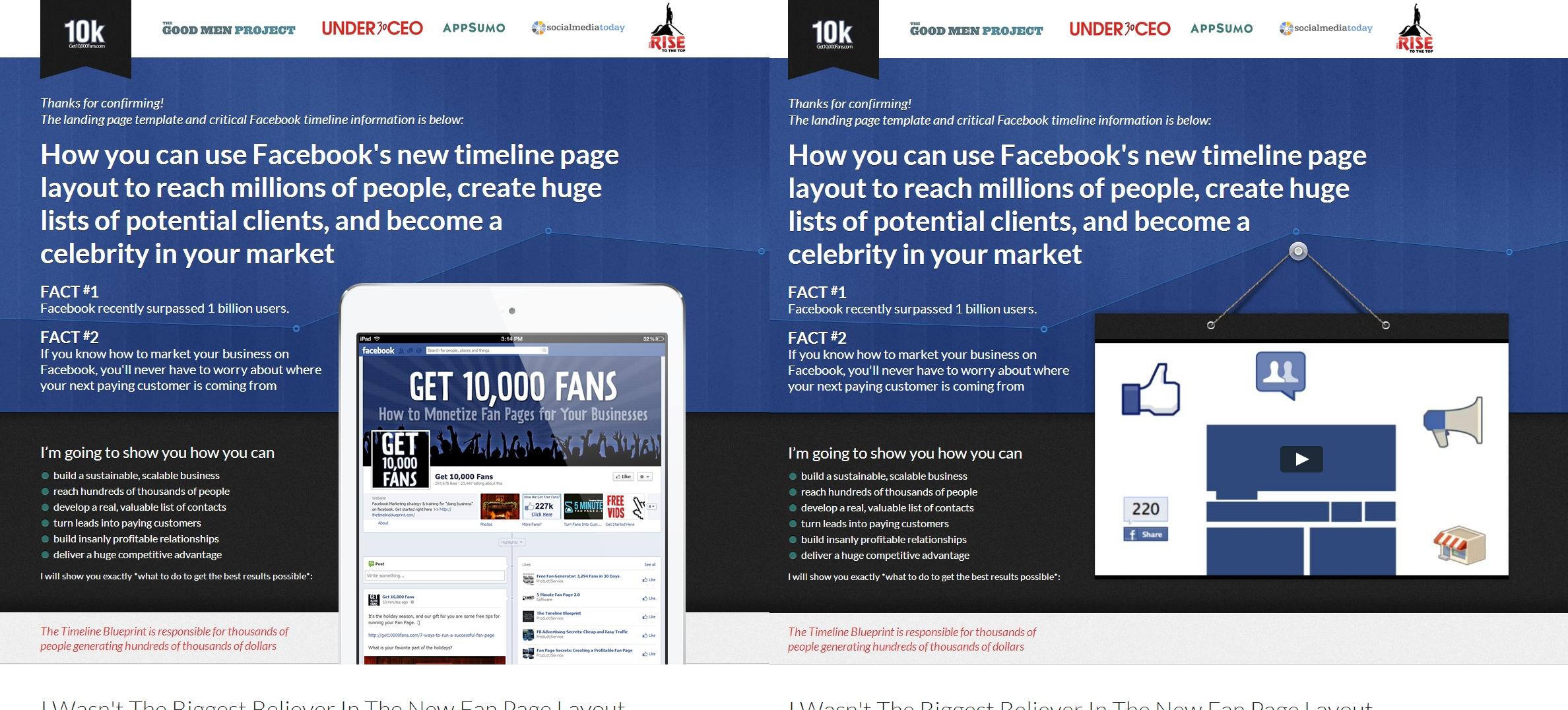 How to design kickass long form sales pages 10kbig malvernweather Image collections