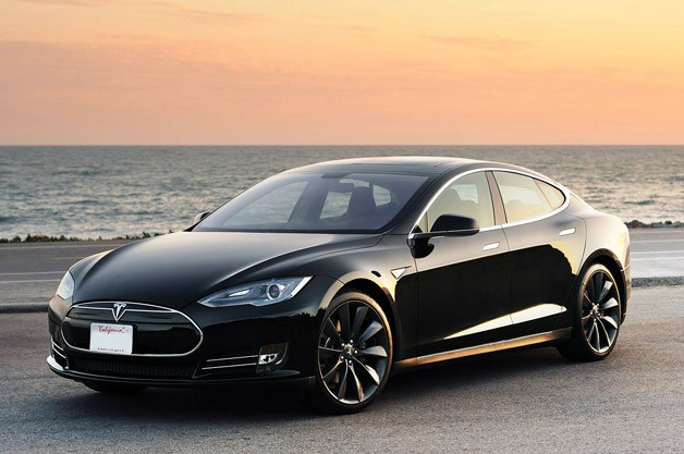 New Tesla Model S.