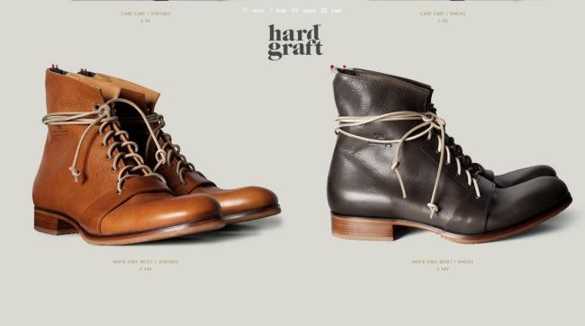 Hardgraft shoes.