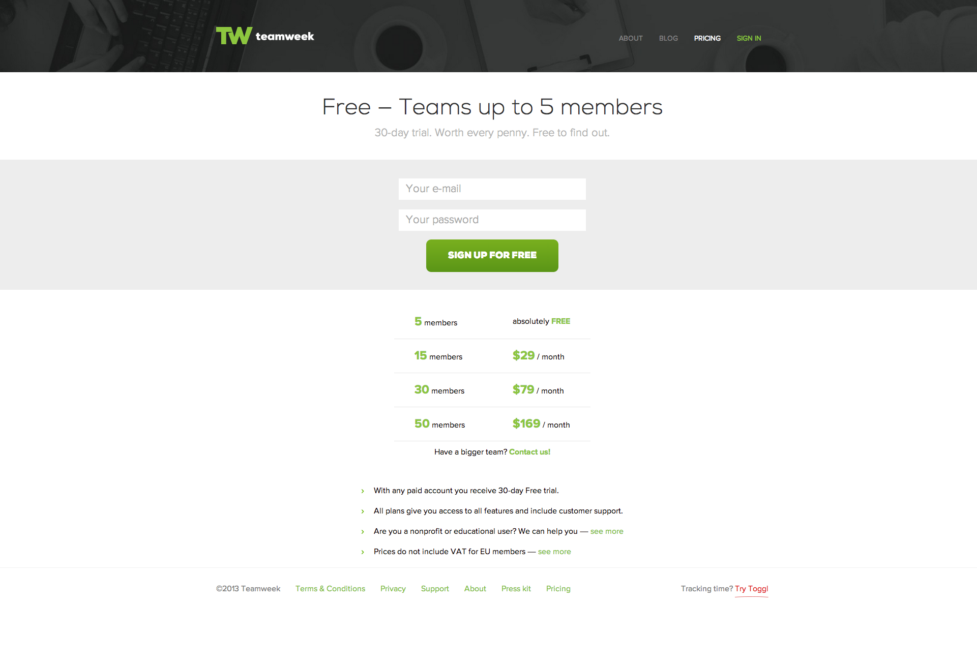 Teamweek Free Project Planning Tool With Team Calendar