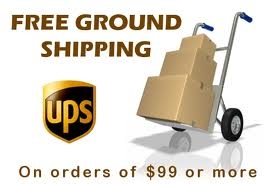 free ground shipping as a value prop.