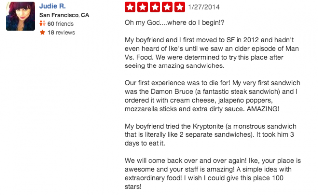 Professional Restaurant Reviews
