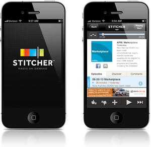 stitcher app