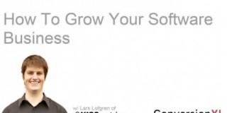 Practical Advice For Growing Your Software Business w/ Lars Lofgren of KISSmetrics