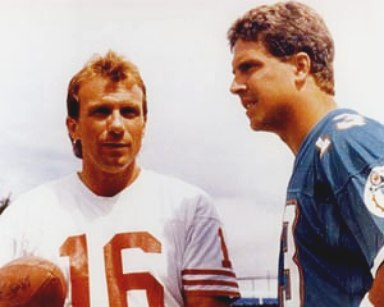 Dan Marino and Joe Montana