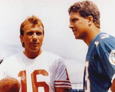 Dan Marino and Joe Montana