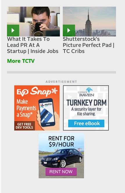 TechCrunch sidebar ad
