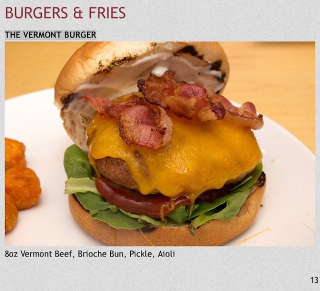 Vermont Burger