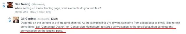 conversation momentum