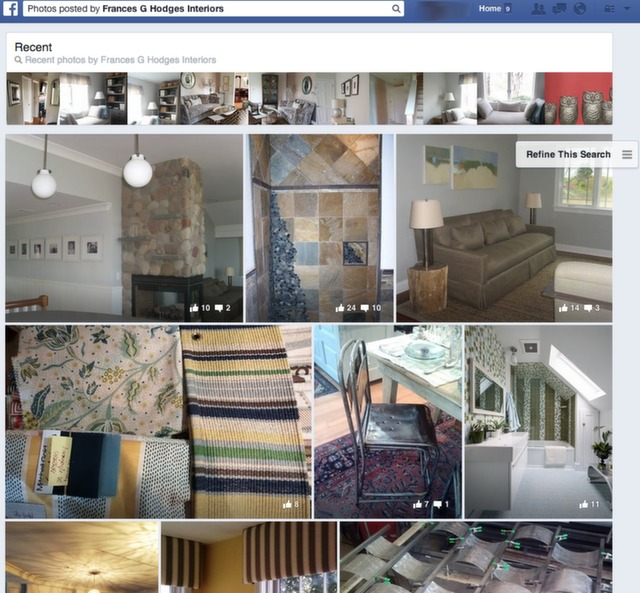 photos posted by interior designer.