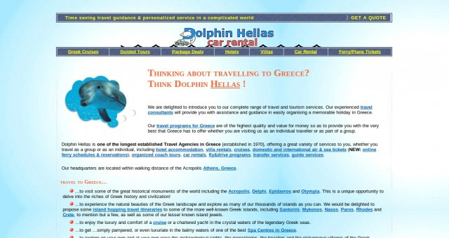 Dolphin-Hellas-website