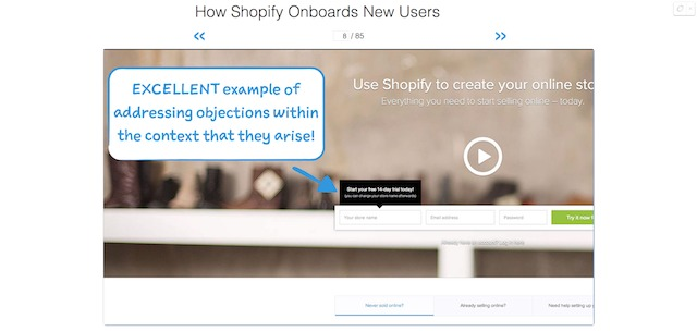 How Shopify Onboards New Users   User Onboarding