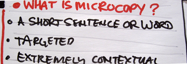 Microcopy: Tiny Words That Make A Huge Impact On Conversions