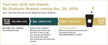 starbucks rewards program