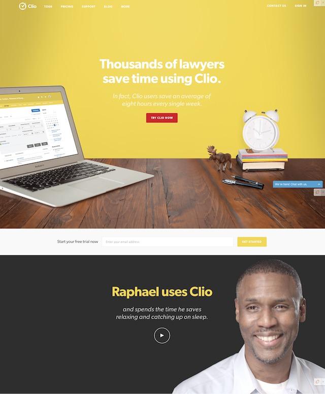 Clio practice management software