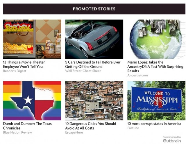 outbrain promoted stories.