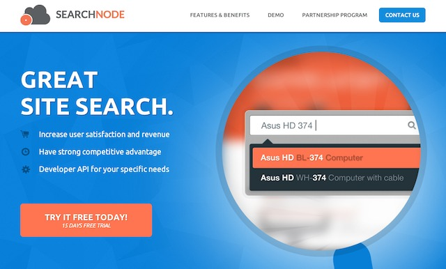 SearchNode.net   Great Site Search