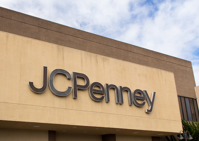 jcpenney storefront.