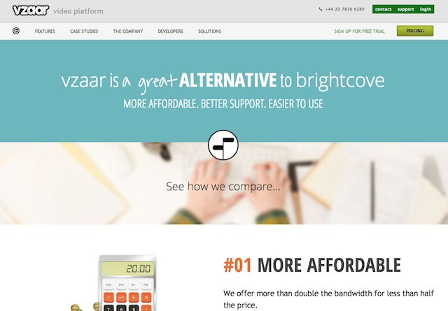 vzaar is a great alternative to Brightcove vzaar.com