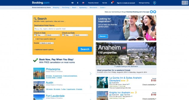 Booking.com  523 267 hotels worldwide. 33  million hotel reviews.