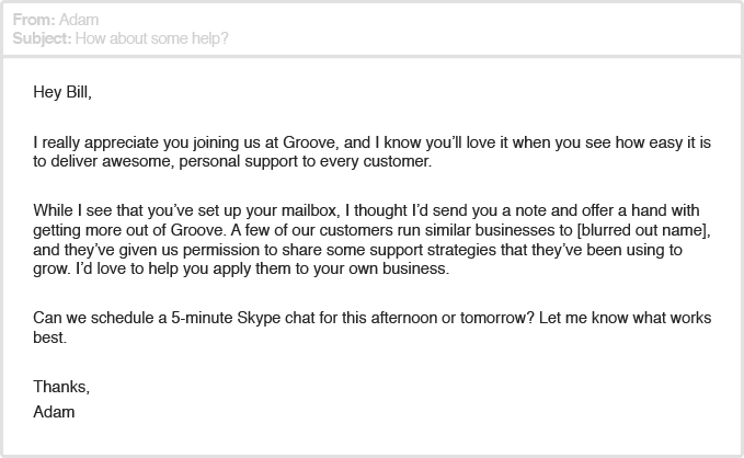 Groove Email 2