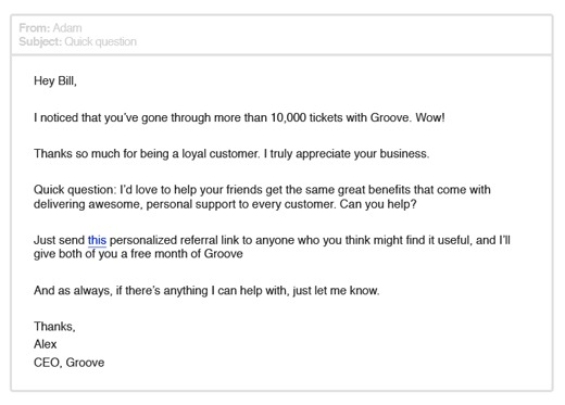 Groove email 4