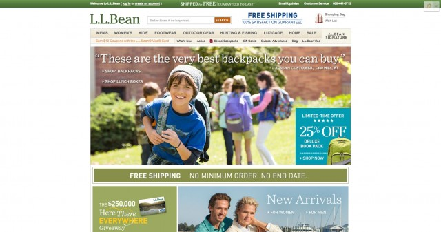L.L.Bean  FREE Shipping. 100  Satisfaction Guaranteed.