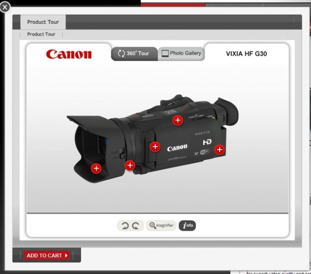 canon product tour