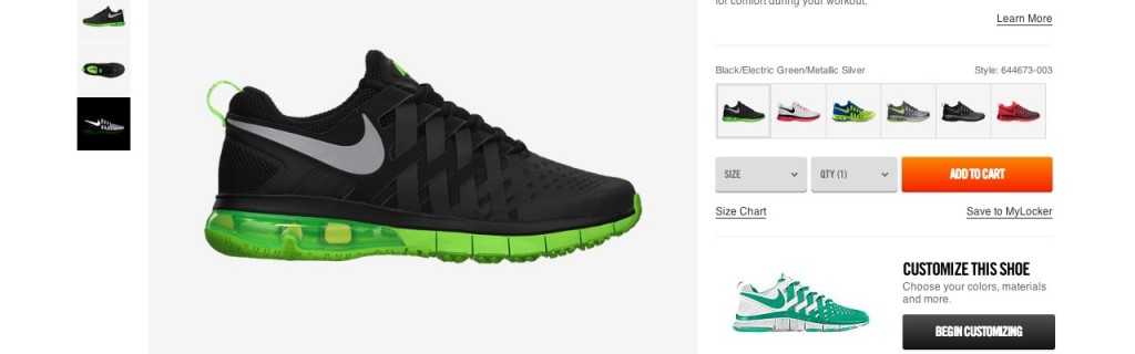 What Nike.com (and Others) Can Teach You About Building Persuasive Product Pages