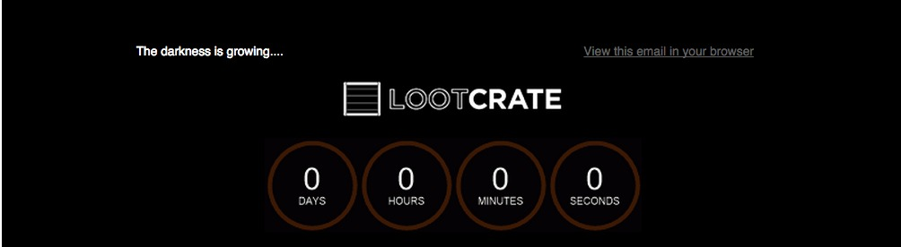 Lootcrate email
