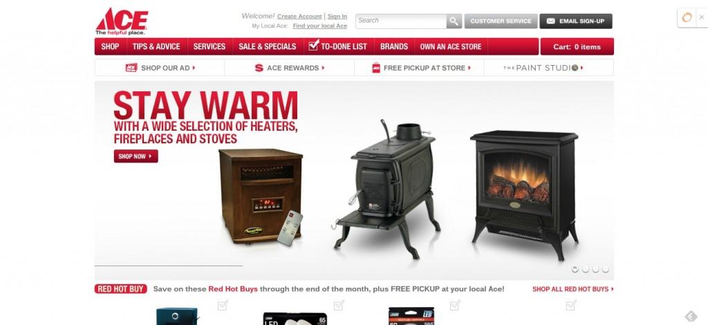 Seasonal Homepage