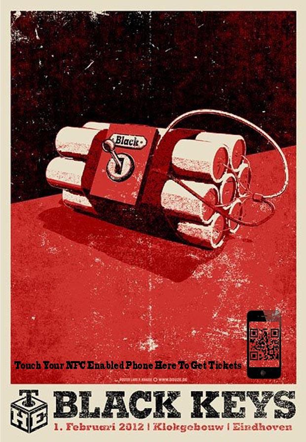 Black keys ad.