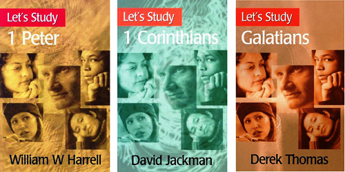 example of overuse of stock photo for study series on christianity.
