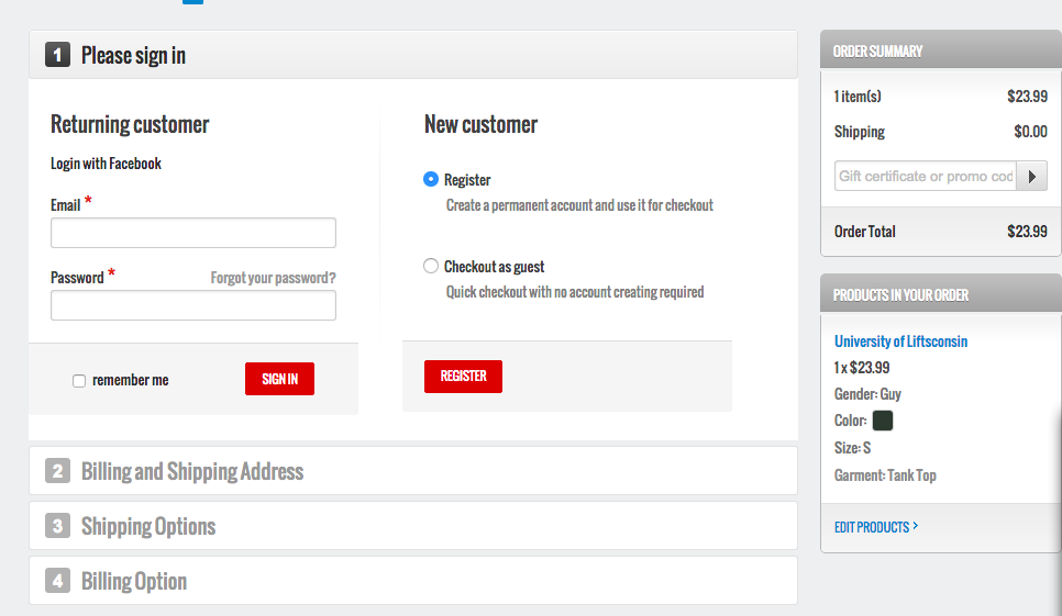 guest checkout boost conversions