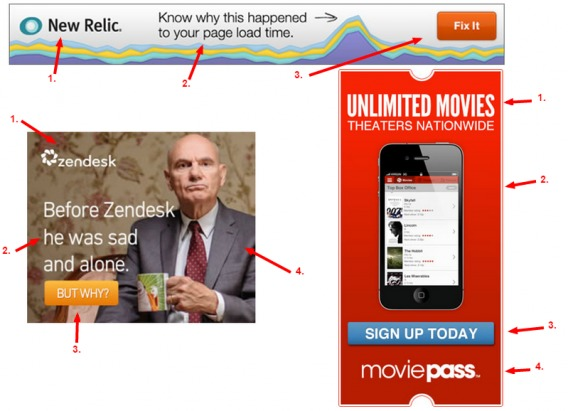Good banner ads examples.
