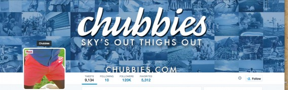 chubbies twitter