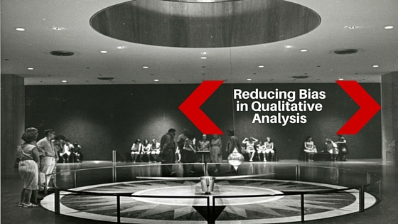 Researcher bias in qualitative study