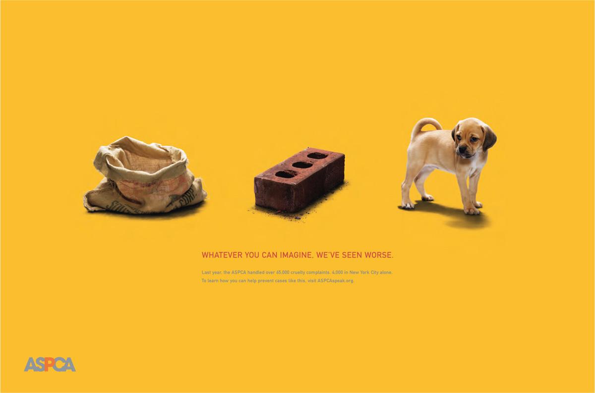 ASPCA Emotional Persuasion ad.