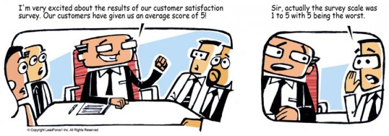 Customer Survey Comic