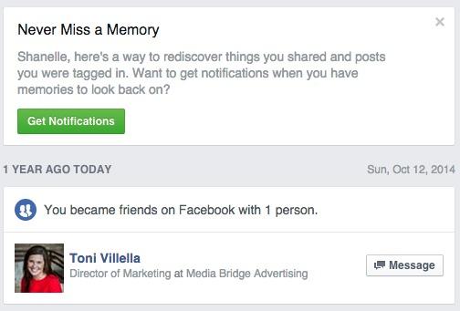 Facebook Retention Hook